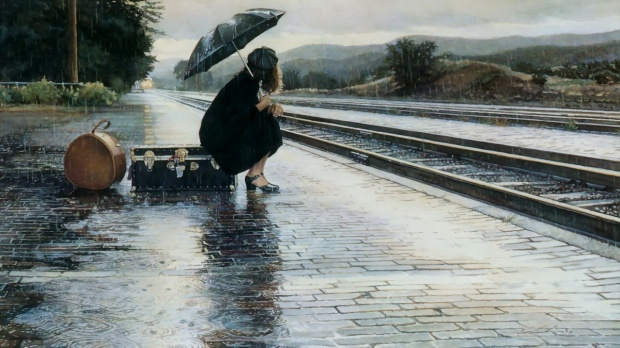 wallpapersxl-sad-girls-alone-anime-girl-tumblr-rain-woman-umbrella-train-railway-station-645485-1920x1080